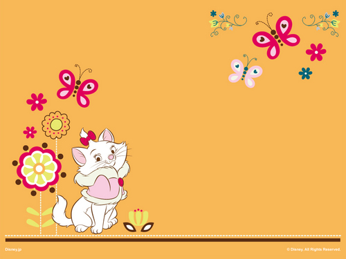 The Aristocats Marie Wallpaper
